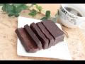 電子レンジだけでチョコレートテリーヌの作り方!