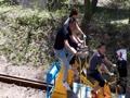 旧小坂鉄道 レールバイク