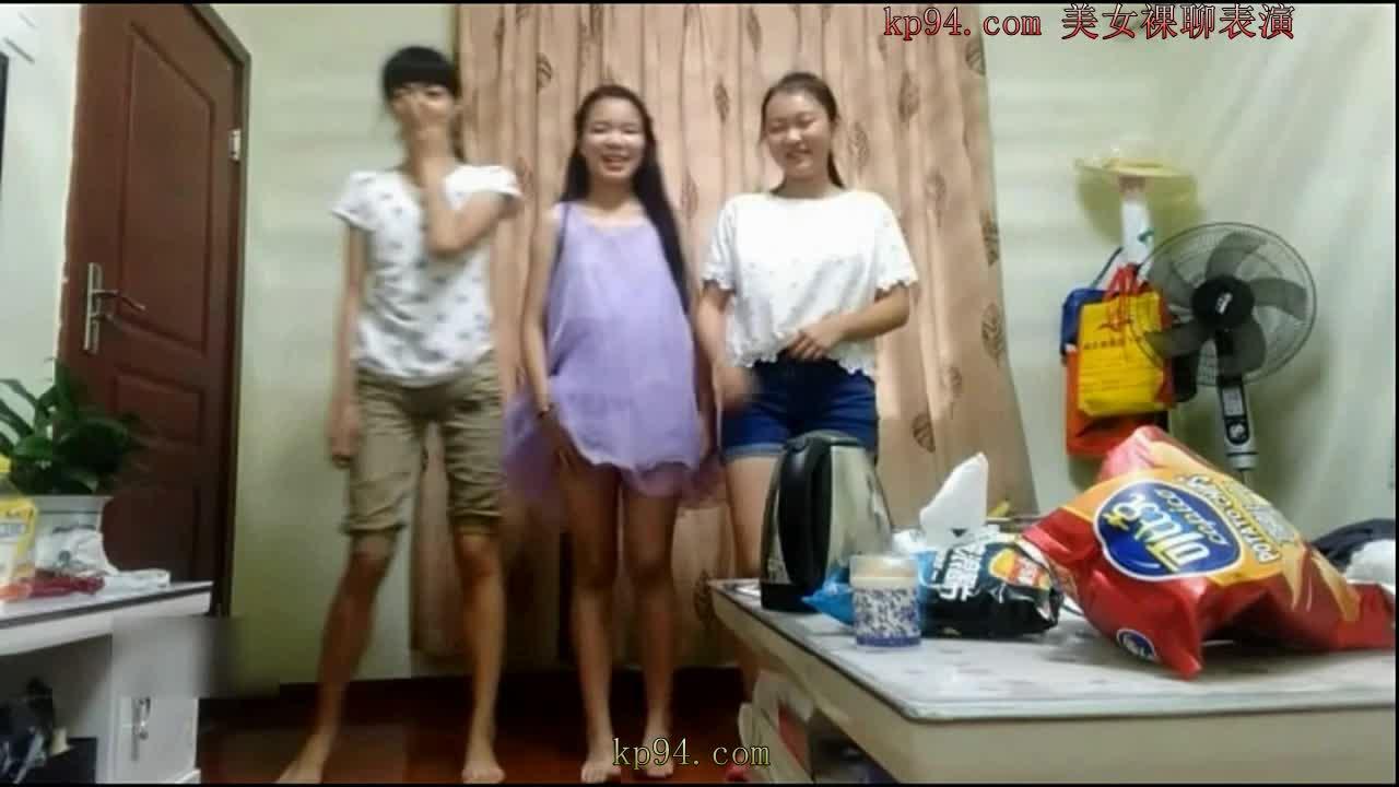 学生的明星梦系列6:大学宿舍三姐妹唱歌跳舞脱裸体.mp